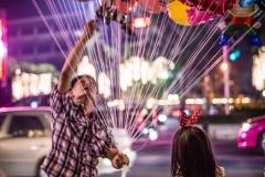 Girl and Balloon, Bangkok