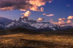 Sunset Over Fitzroy Mountain, Patagonia