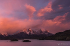 Torres Del Paine National Park Sunrise, Chile