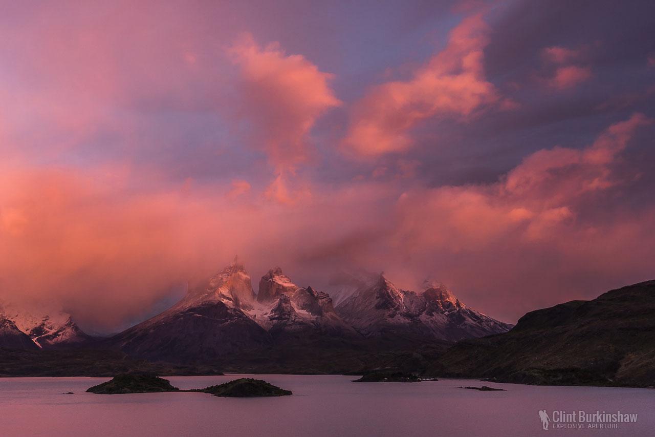 Torres Del Paine National Park Sunrise, Chile