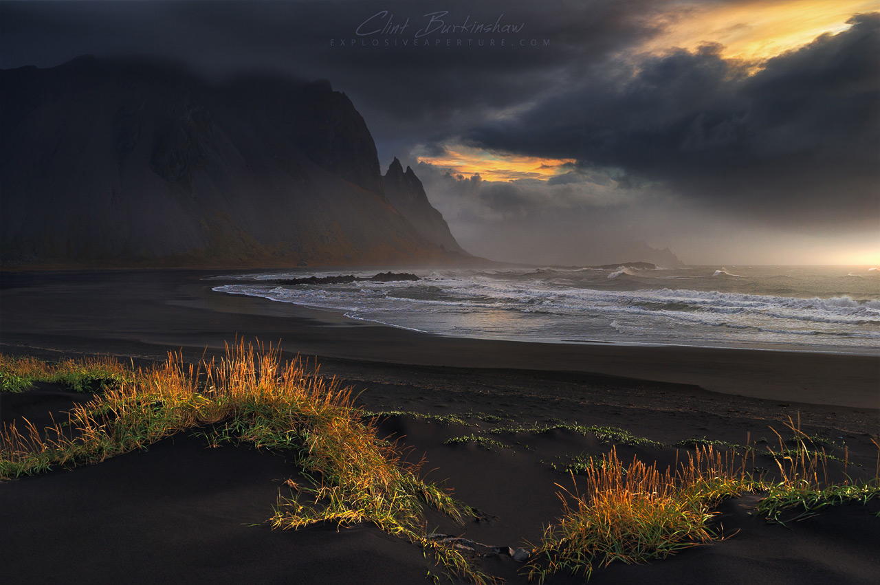 The incredible coast at Vestrahorn, Iceland